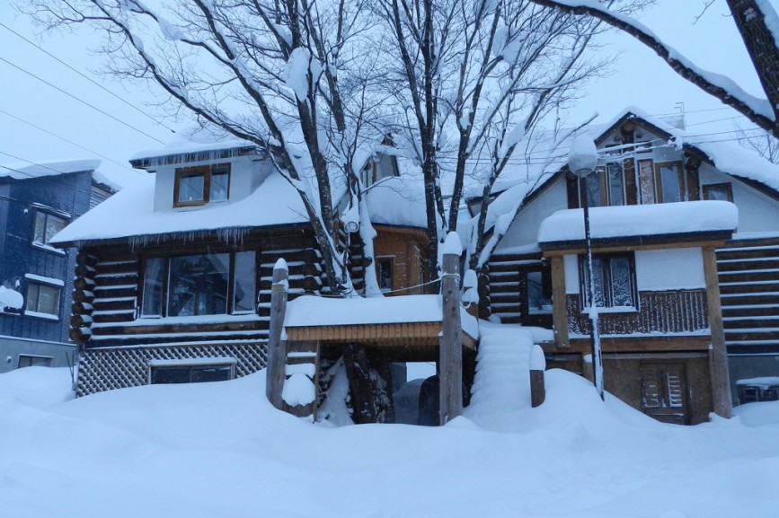 niseko accommodation pension woody note guest rooms