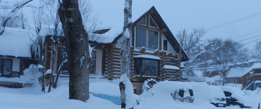 niseko accommodation pension woody note